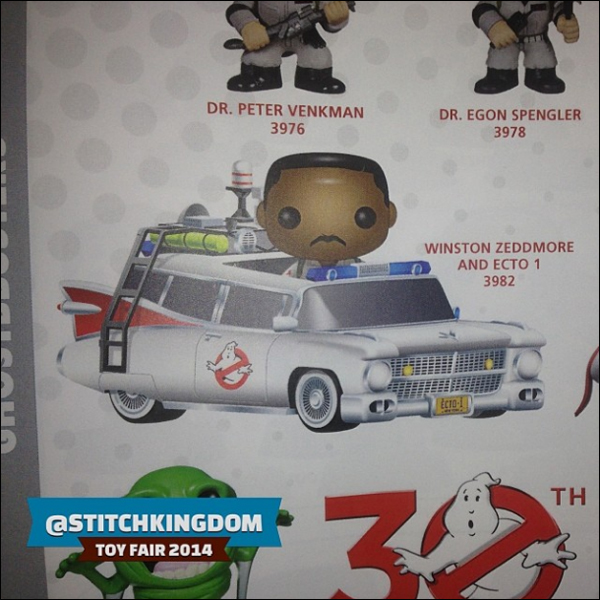 New York Toy Fair: First images of Funko's Winston Zeddemore vinyl figure