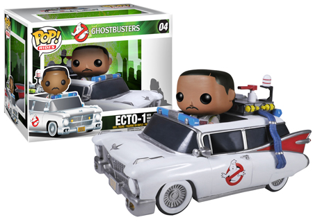 Press Release: Funko's Pop! Ghostbusters vinyl figures
