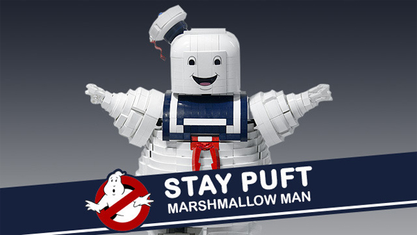 Want a Lego Stay Puft Marshmallow Man?! VOTE NOW!
