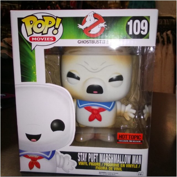 Hot Topic's Stay Puft POP! vinyl figure variant revealed