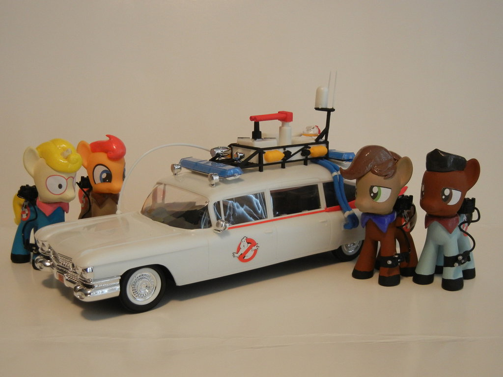 Fan Creation: My Little Pony Ghostbusters