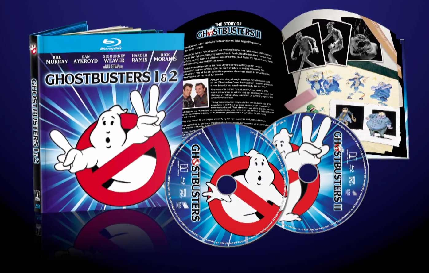 Sony releases trailer for Ghostbusters 1 & 2 Anniversary Blu-Ray set