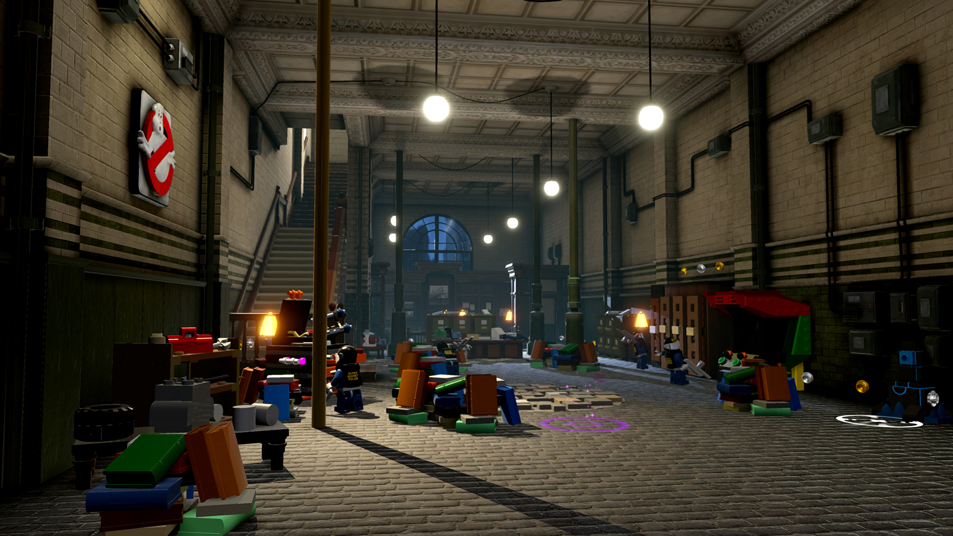 First Look Ghostbusters Hq In Lego Dimensions